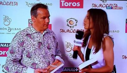 Entrevista de Canal Plus por Elena Salamanca.
