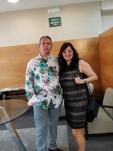 Con mi mi mujer Sonia.