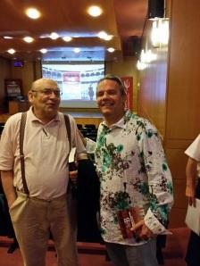 Con don Jesús Amurrio.