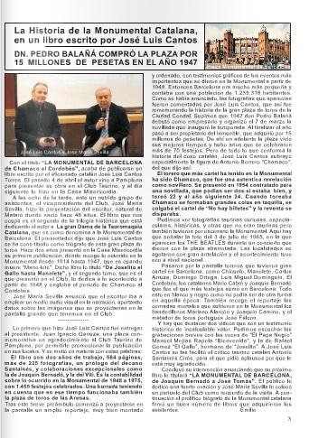 Boletín Informativo del Excmo. Club Taurino de Pamplona.