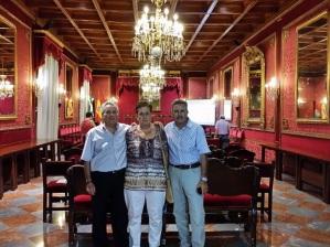 Mi suegra y sus hermanos Andrés y Antonio.