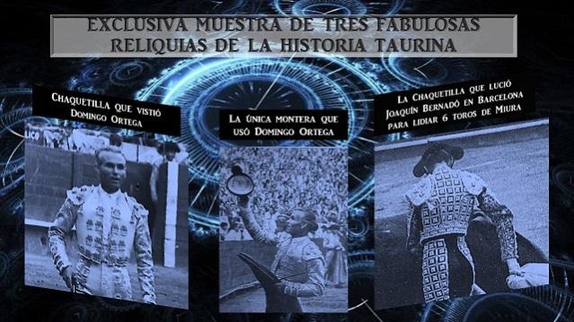 RELIQUIAS DE LA HISTORIA TAURINA