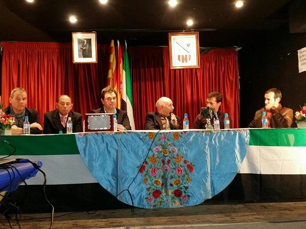 De izquierda a derecha, José Luis Cantos, José Ángel Carcelén, José Sevillano, Jesús Fernández, José María Alarcón y Ángel Lería.
