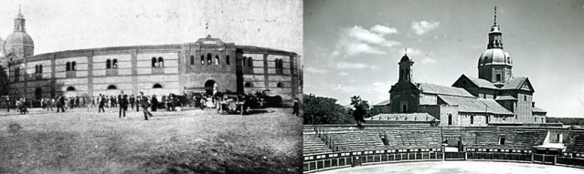 La plaza de Talavera de la Reina en 1920.