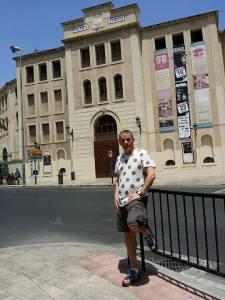 De visita a la plaza alicantina.