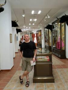 En el Museo Taurino de Alicante, uno de los más bonitos que he visto.